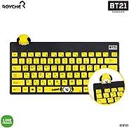 BT21 Figure Wireless Keyboard by Royche (Yellow(Chimmy))