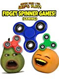 Clip: Annoying Orange and Pear Let's Play - Fidget Spinner Games (Gaming) [OV]