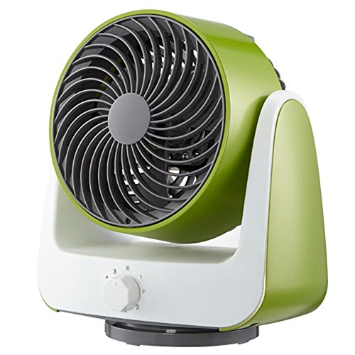 LRPFS GWDJ Elektrischer Ventilator Kreative Mini Mechanische Fan/Turbine Air Convection Fan/Schlafsaal Zimmer Haushalt Stumm Desktop-Fan (3 Farben erhältlich) Kühlventilator (Farbe : A)