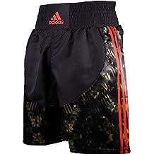 adidas pantalones cortos de boxeo, camo - negro