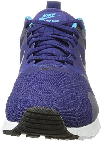 Scarpe Nike fedele Ginnastica Basso Uomo Laguna Da Uk Bianco Tavas Bl Blk Nero Blu Blu wqrzqcRtAW