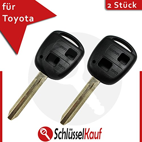 twin-pack-lexus-toyota-key-shell-aygo-corolla-avensis-rav-4-car-uncut-toy43-new