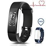 Fitness Tracker Armband Smart Watch Wasserdicht Ip67,Bracelet Wristband Mit Herzfrequenz Schlafanalyse/Kalorienzähler/SMS SNS Call Benachrichtigung/Wetter Push/Stoppuhr/14 Trainingsmodi