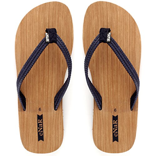 eNaR Women's Brown Color Flip-Flops and Hous...