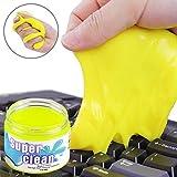 SYFIELD Gomma pane riutilizzabile per la pulizia della tastiera da polvere e sporco, per il tuo PC, cellulare e altre oggetti di uso quotidiano