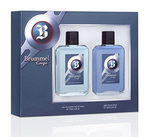 Brummel Coupé Set (Agua de Colonia 125ml con Vaporizador + Aftershave 125ml)
