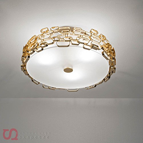 Terzani GLAMOUR Deckenleuchte, Ceiling Lamp Gold
