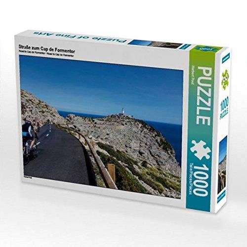 Straße zum Cap de Formentor 1000 Teile Puzzle quer