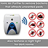 Vermatik 6 in 1 Pest Repeller, Spider Repellent & Rodent Control Plug In, Bed Bug Insect Repellent, Mice, Moth & Cockroach, mosquito plug in Pest Control Unit, Safe Alternative to Rat Poison