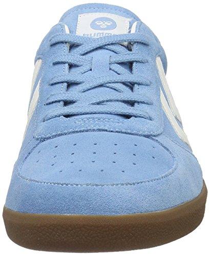Hummel Victory, Sneakers Basses Mixte Adulte Bleu (Heritage Blue)