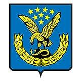 Sign g1155 minvody city Flag COA Emblem A4 Aluminium 10x8 Metal