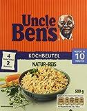 Uncle Ben's® Natur-Reis 10-Minuten Kochbeutel, 6er Pack (6 x 500 g)