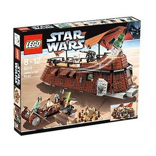 Wars Star Lego-schiffe (LEGO Star Wars 6210 - Jabba's Sail Barge)
