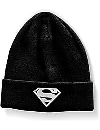 Officiellement Marchandises Sous Licence Superman Shield Bonnet (Noir)