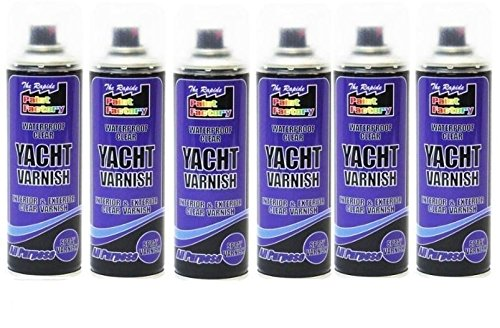 new-6-x-clear-yacht-varnish-spray-all-purpose-interior-exterior-waterproof-250ml
