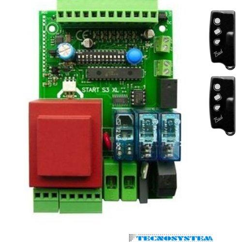 Tarjeta-Central-universal-con-2-mandos-a-distancia-para-puerta-corredera-puertas-basculantes-y-garaje-Compatible-con-todas-las-marcas-230-VAC-Came-FAAC-FADINI-BENINCA