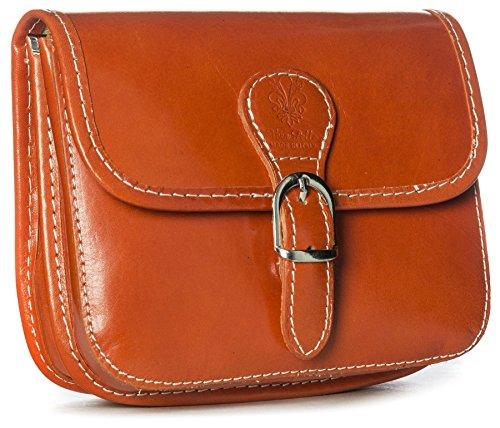 Big Handbag Shop, Borsa a tracolla donna One Arancione (arancione)