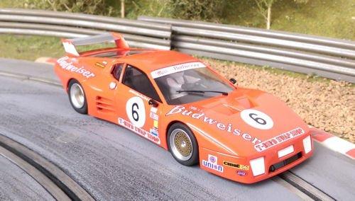 Slotwings W50101 Ferrari 512 BB/LM Budweiser 24h Daytona 1982 #6