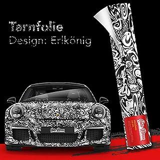 50x150m Erlkönig Tarnfolie für Prototypen- Folie mit Luftkanäle für blasenfreies 3D Wrapping!