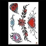 zgmtj Nuovi Adesivi per Tatuaggio Impermeabili ed ecologici Dipinti a Mano TH-586 148 * 210MM