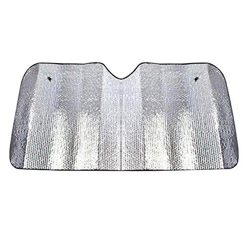 Alxcio Pare Brise Pare Soleil Protection Contre Le Soleil et la Chaleur - Compatibles avec la Plupart des Véhicules, Maintient Froid Votre SUV, Voiture ou Camion (Taille S 51\