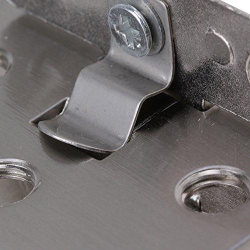 51wheDB3NQL - BQLZR plata tono acero inoxidable Gabinete de cristal puerta bisagra de metal cromado que se ajusta a de pared para 10 mm Espesor puerta 2 unidades