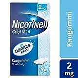 Nicotinell Kaugummi 2 mg Cool Mint (Minz-Geschmack), 96 St. – Für die schrittweise Raucherentwöhnung und den sofortigen Rauchstopp geeignet