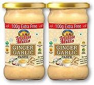 INDIA MILLS Ginger Garlic Paste, 2 x 400 gm