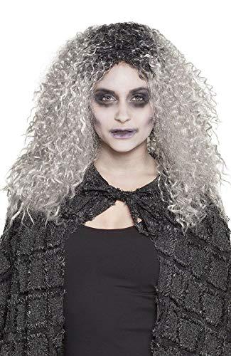 Boland 85990 Perücke Zombie Molly, grau (Molly Halloween Kostüme)