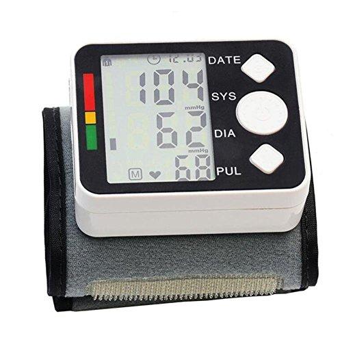 Handgelenk Elektronische Blutdruckmessgerät Blutdruck Pulsmesser Speicher Lagerung Digital LCD Blutdruck Herzfrequenzmonitore (nicht die batterie)