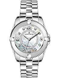 Alpha Saphir Damen-Uhren Quarz  Analog 364C