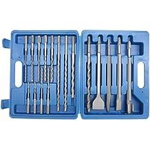 CON:P BP304017 - Set di punte per trapano/scalpello SDS Plus, 17 (Punta Di Pietra)