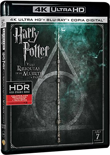 Harry Potter Y Las Reliquias De La Muerte Parte 2 (4K Ultra HD) [Blu-r