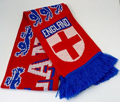 Bufanda de Inglaterra rojo