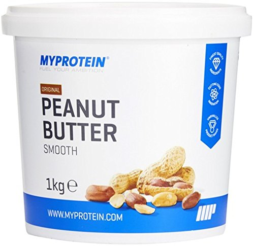 MyProtein Peanut Butter Natural Smooth Crema de Cacahuete – 1000 gr