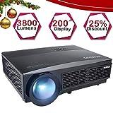 Best Home Cinéma Projecteurs - Vidéoprojecteur HD, WiMiUS Vidéo Projecteur LCD 3500 Lumens Review