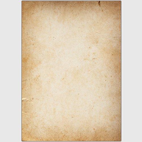 "Designpapier ""Papyrus / Pergament - Urkundenpapier"" - DIN A5 / 25 Blatt"