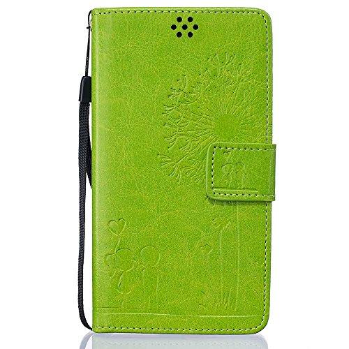 """Apple iPhone 6 Plus Coque (5.5""""), [ de matériau TPU souple ] iPhone 6s Plus étui (5.5 pouces), poussière glissement résistant aux rayures, iPhone 6 Plus Case Licorne et Bouchon anti-poussière Vert"""