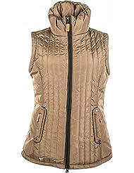 Lauria garrelli chaleco de equitación - Champagne-, color - Marrón, tamaño XS
