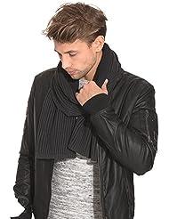 Selected Homme - SHElement écharpe H - Homme Noir Taille Onesize 100 % coton.