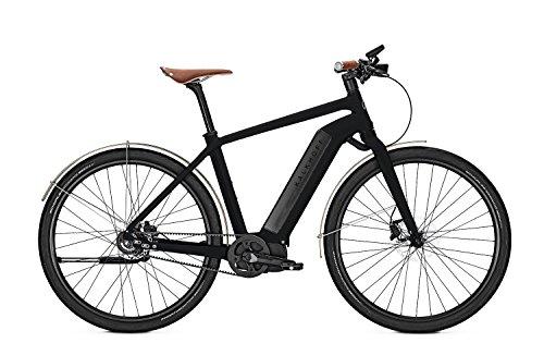 E-Bike Kalkhoff Integrale Limited wood Riemenantrieb 17 Ah 28' Diamant Freilauf, Rahmenhöhen:50, Farben:Magicblack matt