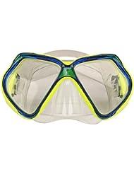 Waimea Senior Tauchermaske, Gelb/Blau, One Size