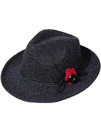 e2d6586a5c044 Gorros Gorro De Jazz para Mujer Sombrero De Fieltro Sombrero Holgado  Especial Estilo Sombrero Elegante De Otoño E Invierno con Gorros…