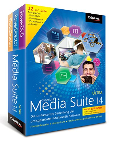 CyberLink Media Suite 14 Ultra Home & Business (Total Video Auf Dvd)