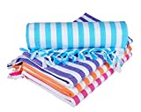 Sathiyas Cotton Bath Towel Pack of 4 (Bl...