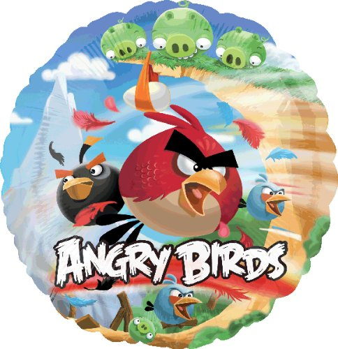 Angry Birds Ballon Original Folienballon deluxe Deko Party