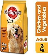 Pedigree Chicken & Vegetables, Dry Dog Food (Adult),