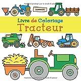 Livre de Coloriage Tracteur: Pour les enfants de 2 ans