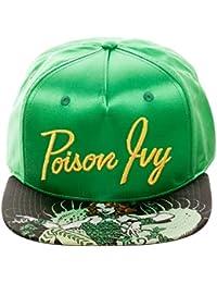 DC Comics Poison Ivy Satin Snapback Baseball-Cap