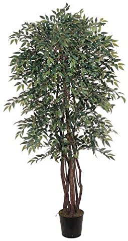 Nearly Natural 5020 Smilax Silk Decorative Tree, 6-Feet, Green by Nearly Natural